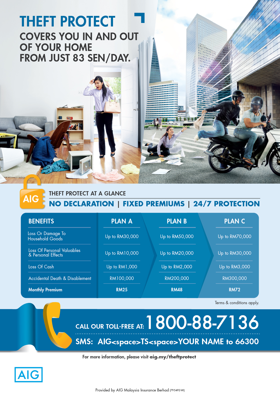 AIG Theft Protect