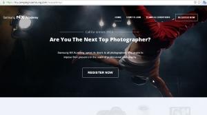 Samsung NX Camera Campaign
