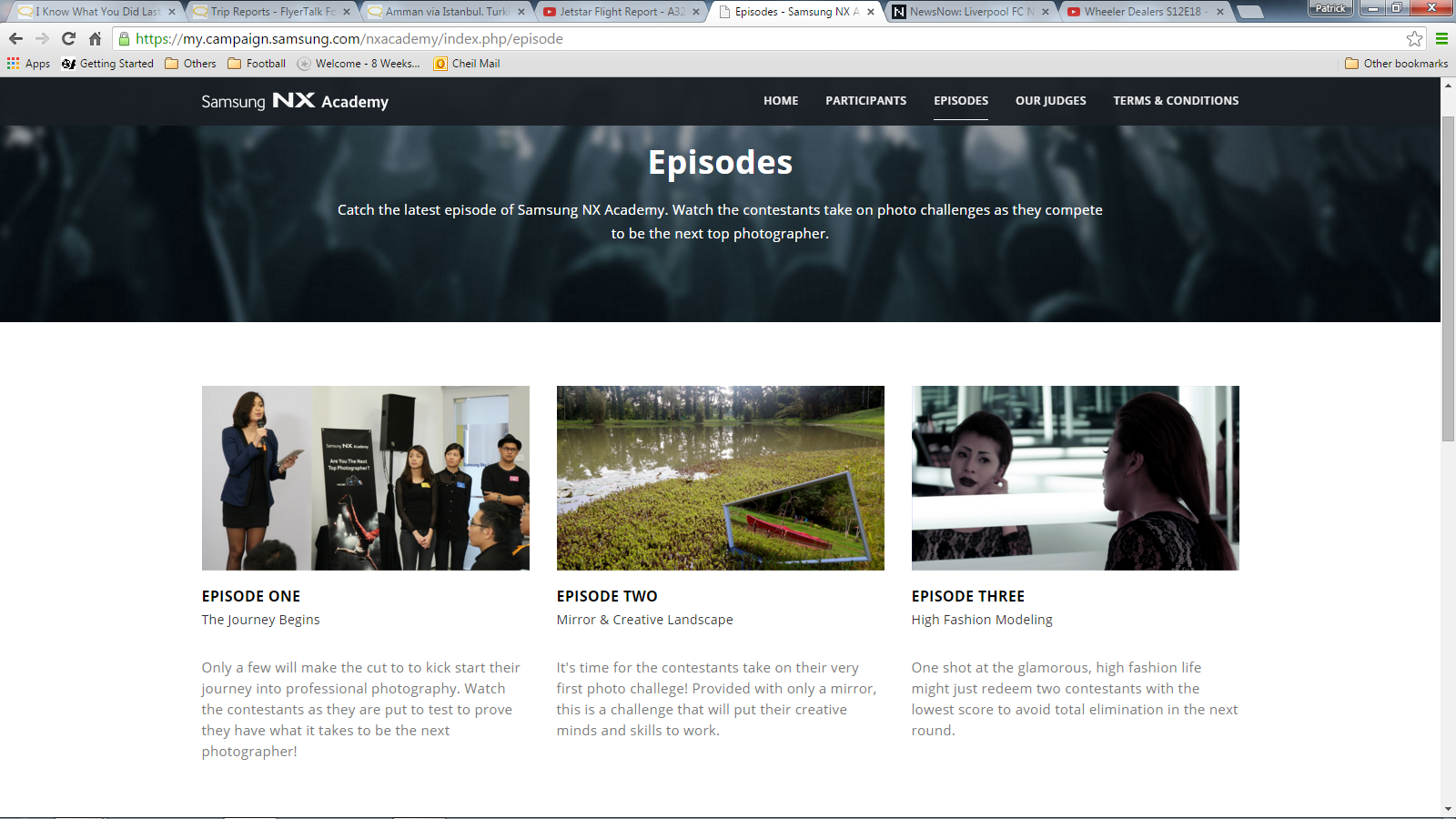 NX Academy website